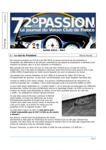 thumbnail of V72 N°64 Juillet 2016