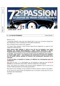thumbnail of V72-N°75-Juillet