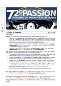 thumbnail of V72_N°77_Novembre