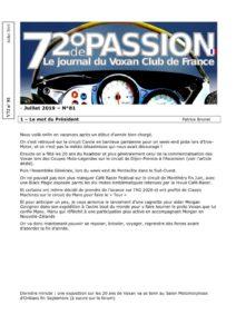 thumbnail of V72 N°81 Juillet